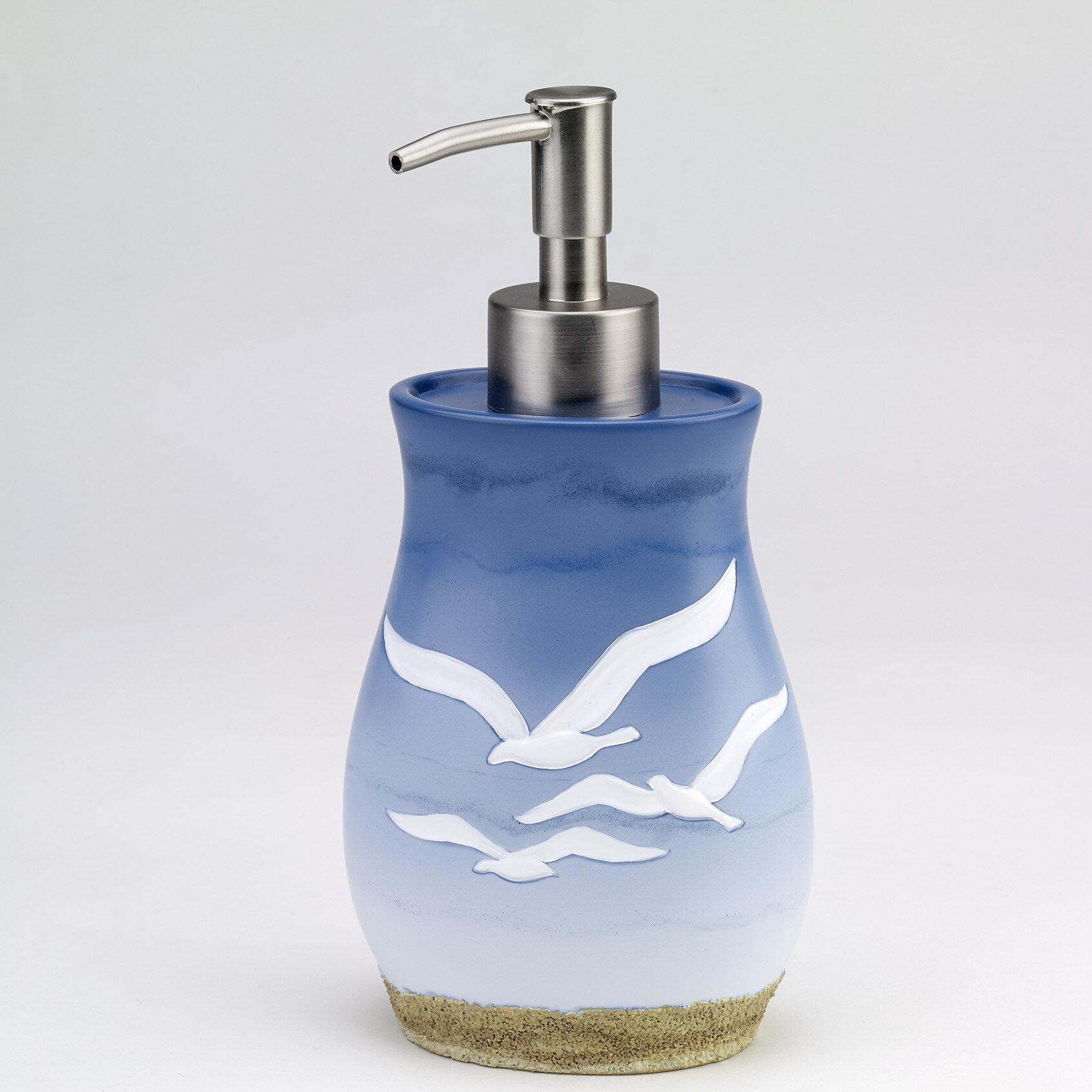 Avanti Linens Seagull Lotion and Soap Dispenser & Reviews | Wayfair