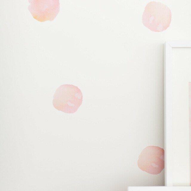 Watercolor Dots Wall Decal