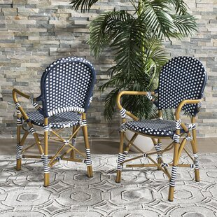 Culpeper Stacking Patio Dining Chair (Set of 2)