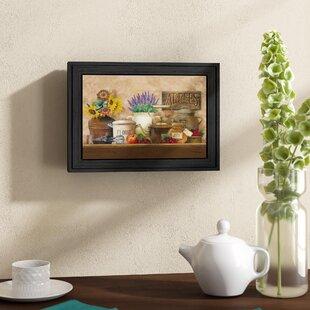 U0027Antique Kitchenu0027 Framed Graphic Art Print