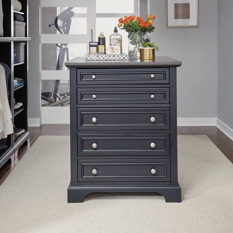Alcott Hill Glenmoor Closet Island Reviews Wayfair