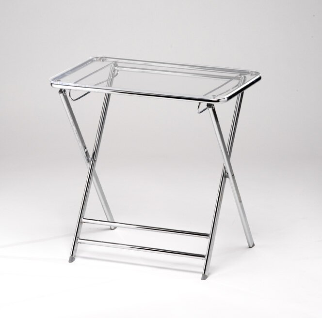 Lucite Snack Tables