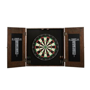 Webster Dartboard And Cabinet Set