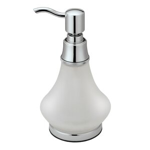 frosted glass bathroom accessories. countertop essentials frosted glass soap dispenser bathroom accessories c