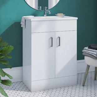 Minimalist 610mm Free-standing Vanity Unit by Premier