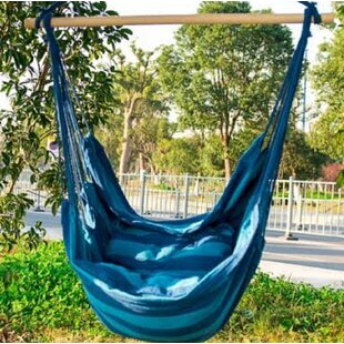 Axel Indoor/Outdoor Hanging Cotton Chair Hammock