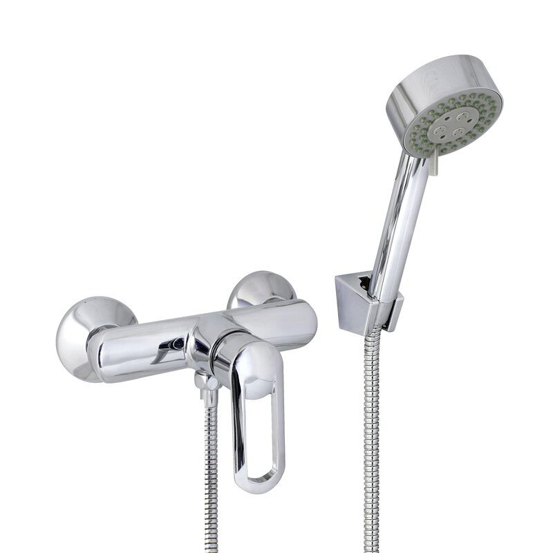 Modona European Style Shower Mixer with Single Handle & Reviews ...