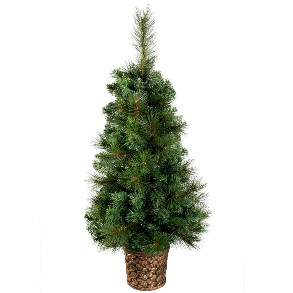 Artificial Christmas Trees Amazon Uk: The Seasonal Aisle Victorian 3ft Green Pine Artificial