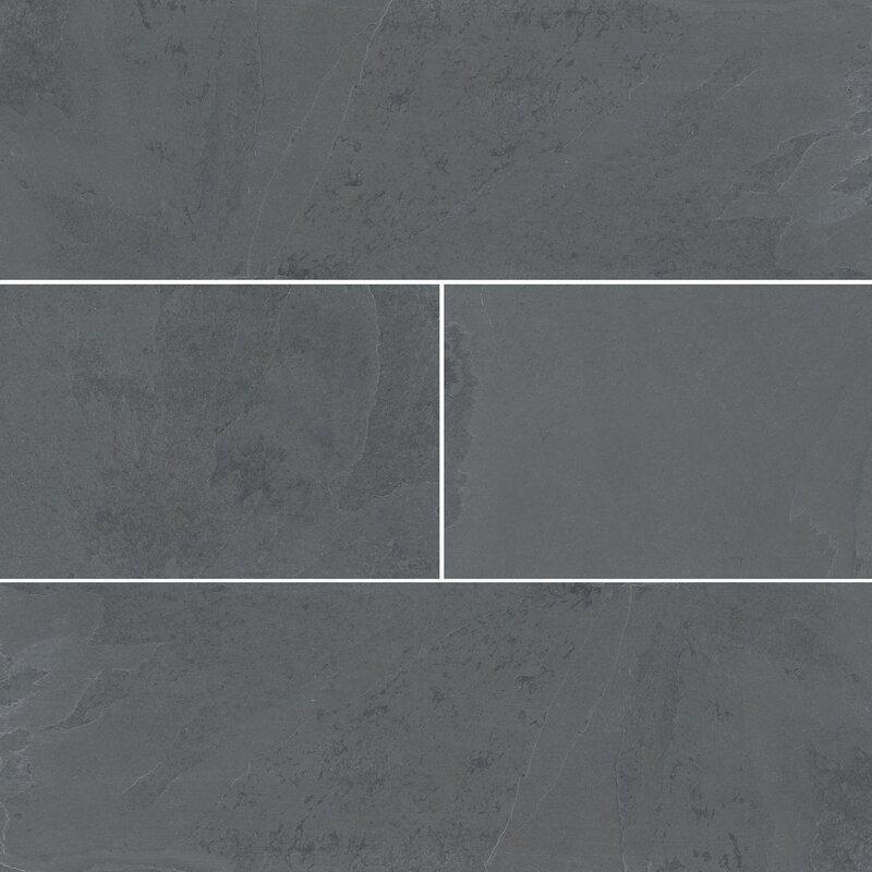 Montauk 4 X 12 Slate Subway Tile