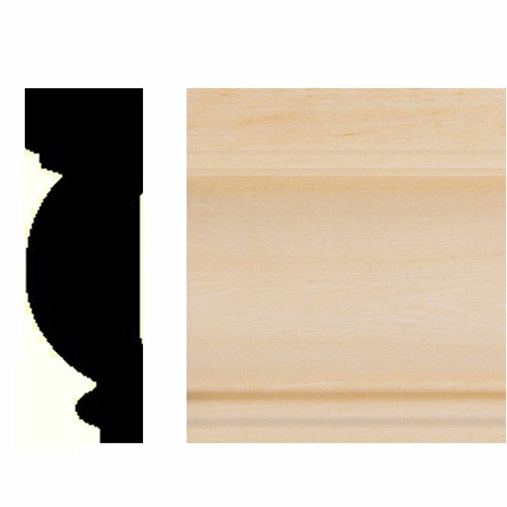 Manor House 7/8 In. X 2-5/8 In. X 8 Ft. Basswood Casing