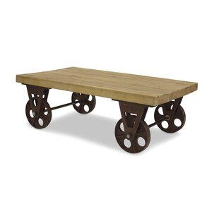 Harney Table With Wheels Coffee Table