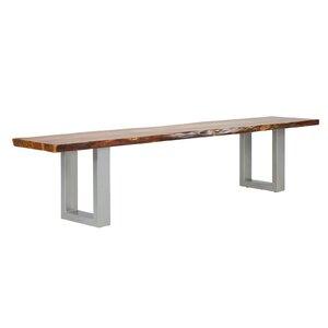 Sitzbank Barku aus Metall/Holz von Massivum