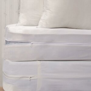 Bed Bug Hypoallergenic Waterproof Mattress Protector Set by Royal Heritage Home