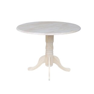 Inch Round Dining Table Wayfair - 44 inch round pedestal dining table