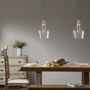 Pollman 1-Light Inverted Pendant