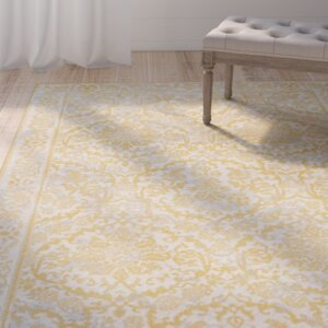 Montelimar Ivory/Gold Area Rug