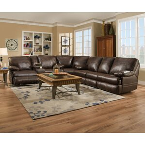 Darby Home Co Simmons Reclining Sectional Image