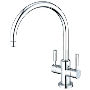 Kingston Brass Concord Double Handle Kitchen Faucet