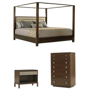 MacArthur Park Canopy Bed Configurable Bedroom Set