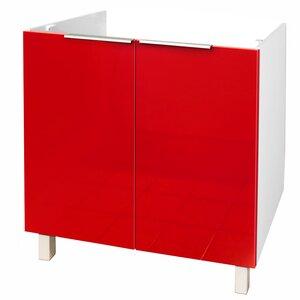 80 cm Waschbeckenunterschrank von Hokku Designs