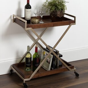 Anthonyson Kitchen Trolley Utility Dining Bar Cart