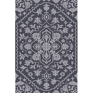 L'Ermitage Hand-Knotted Blue Area Rug