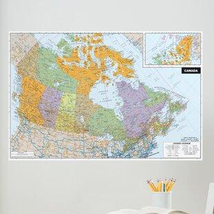 Universal Map Dry Erase Maps   Wayfair