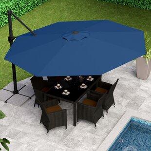 Parasol Blue Patio Umbrella   Wayfair