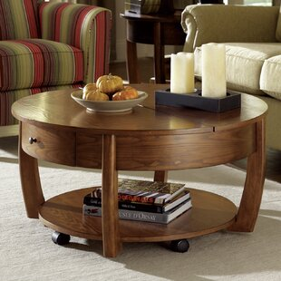 Round Stone Top Coffee Table Wayfair