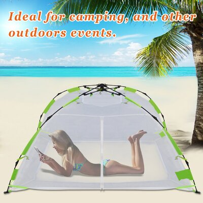 Kid Family Pet Mosquito Net Multi-Use Pop Up Instant 2 Person Tent  sc 1 st  Wayfair & Texsport First Gear Cliffhanger 1 3-Season Backpacking Tent ...
