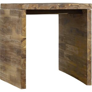 Live Edge Rectangle End Table by Hooker Furniture