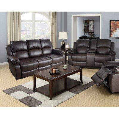 terrific black leather living room set   Leather Living Room Sets You'll Love   Wayfair