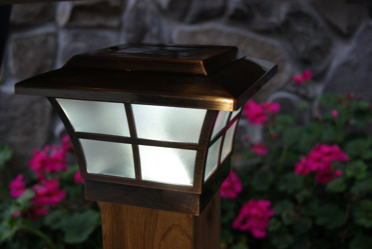 Classy Caps Solar 2 Light Fence Post Cap Amp Reviews