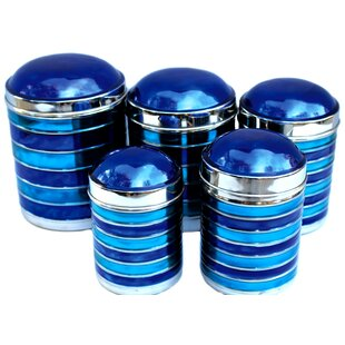 Navy Blue Kitchen Canisters Wayfair