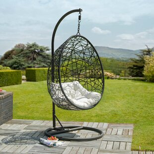 Retreat Hanging Chair with Stand by Urban Designs