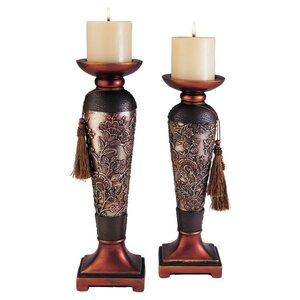 Haya 2 Piece Candlestick Set