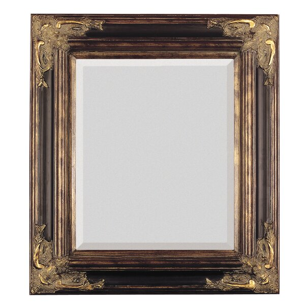 Unique Majestic Mirror Bronze with Gold Square Antique Framed Beveled  GT92