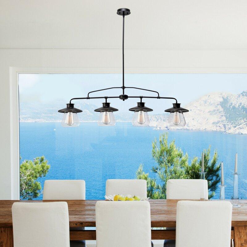 Trent Austin Design De Long 4 Light Kitchen Island Pendant