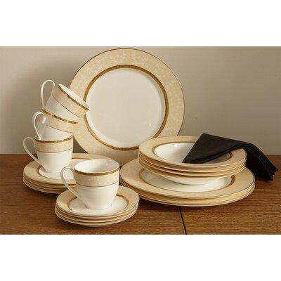 forest Bone China 20 Piece Dinnerware Set, Service for 4 Flato Home