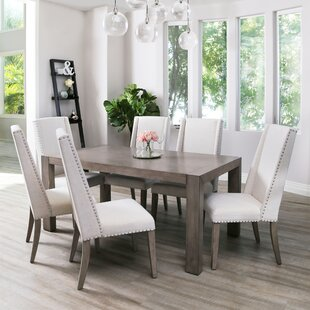 Averi Acacia 7 Piece Dining Set