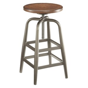 Oberlin Adjustable Height Swivel Bar Stoo..