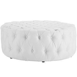 finest selection db3ac 2571e White Ottoman Chair | Wayfair