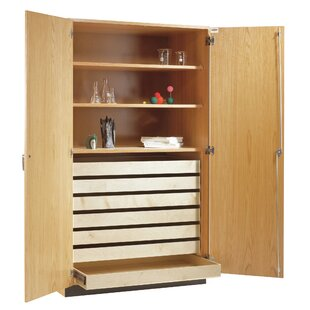 Fresh Cabinet With Shelves And Doors Set