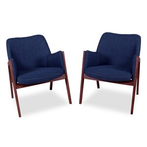 Kim Armchair (Set of 2) by Ashcroft Imports