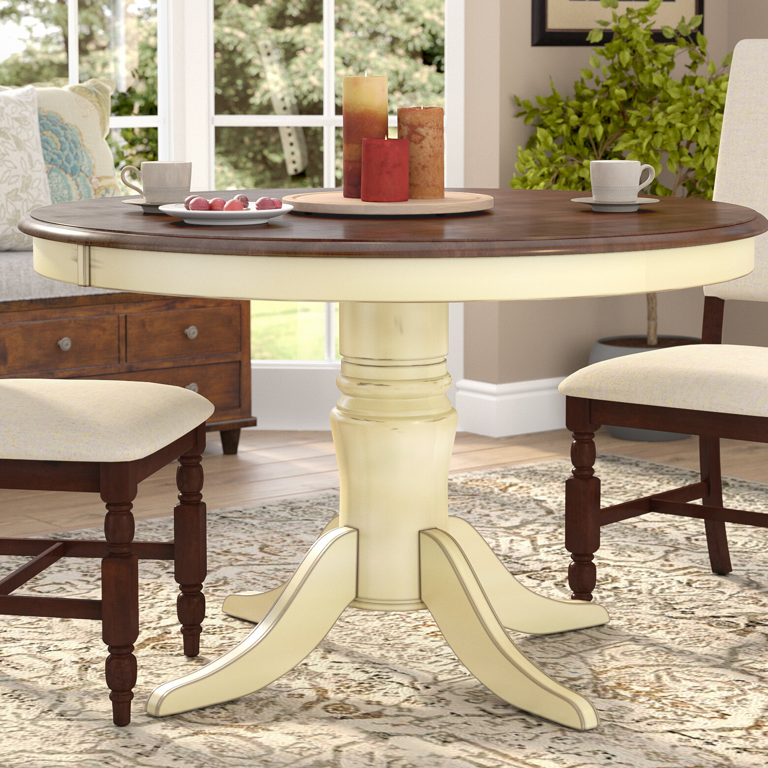 & Darby Home Co Scottville Dining Table u0026 Reviews | Wayfair