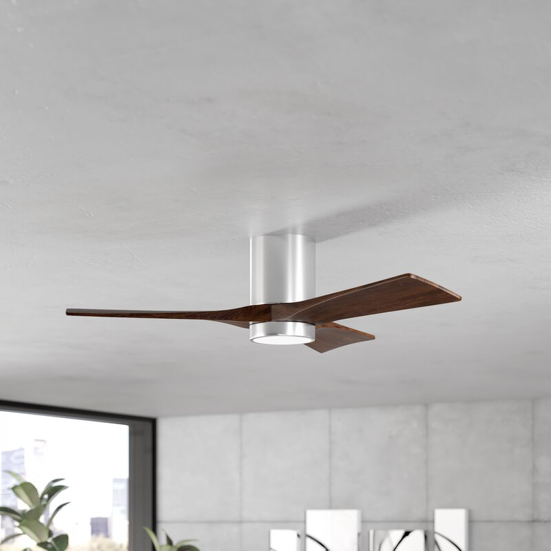 Hugger Ceiling Fan With Wall Remote