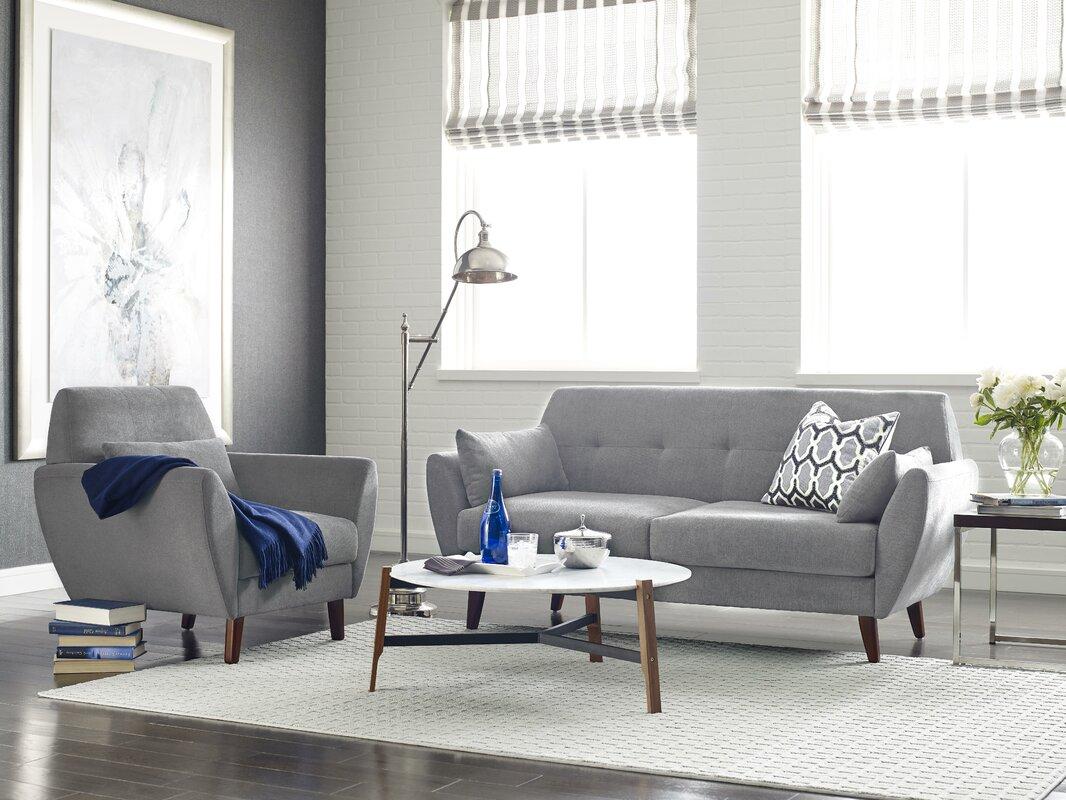 Serta at Home Artesia Configurable Living Room Set & Reviews | Wayfair