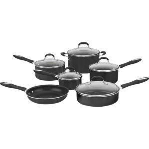 Cuisinart 11-Piece Advantage Stainless Steel Cookware Set