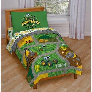 Johnny Tractor Toddler Bedding Set. By John Deere