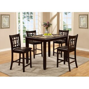 Stubbs 5 Piece Pub Table Set